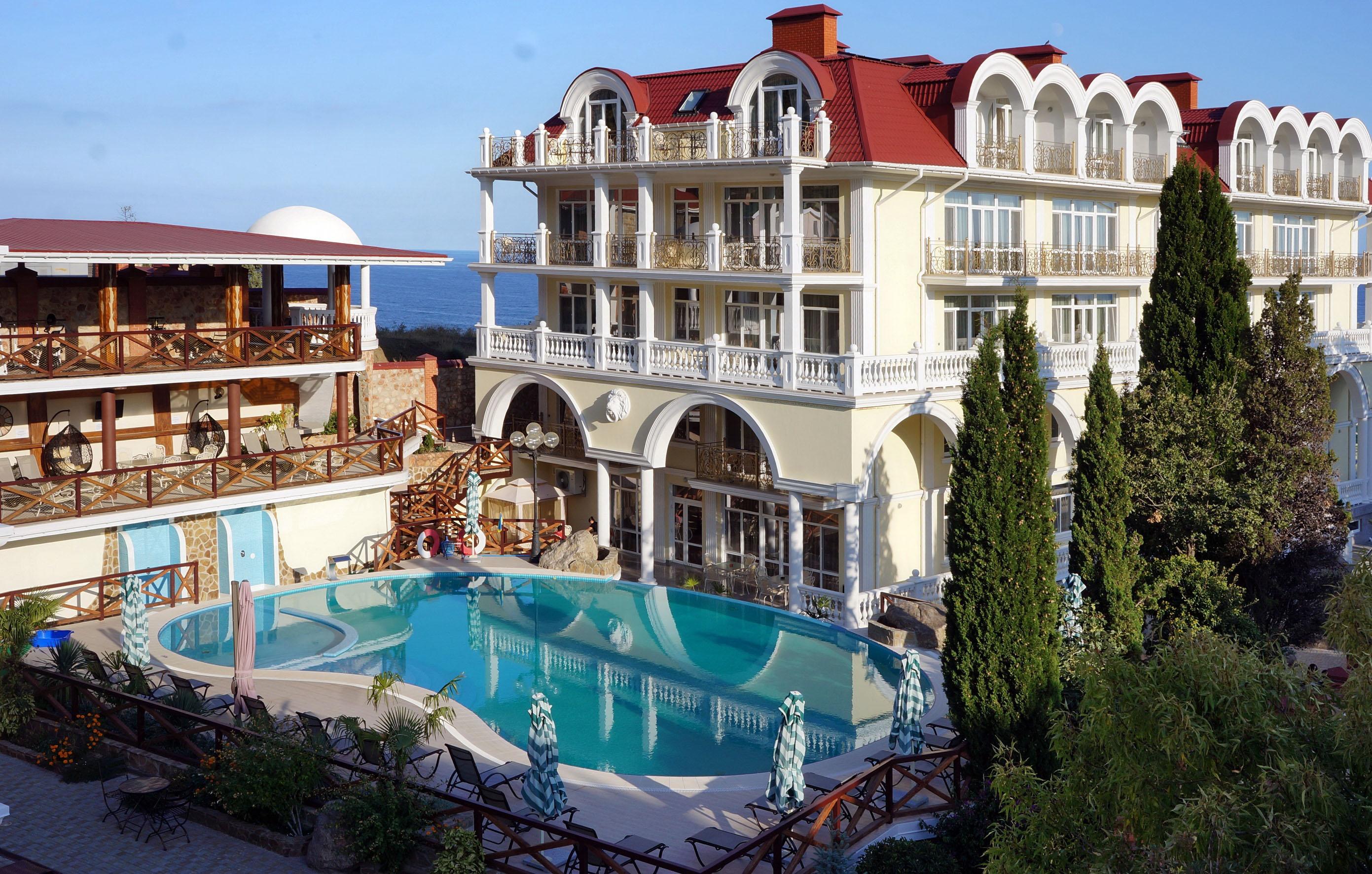 Отель Александрия 4* (Симеиз | Крым)