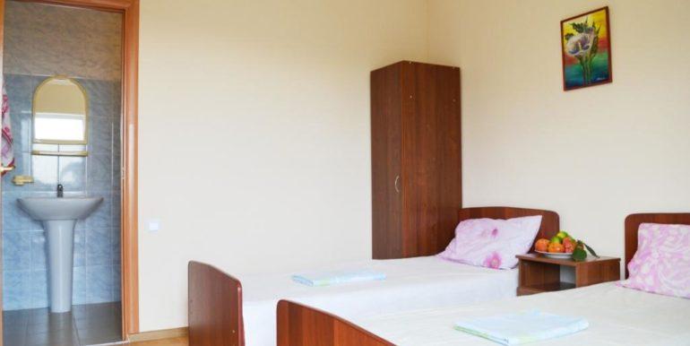 2-х местный номер с 2 односпальными кроватями