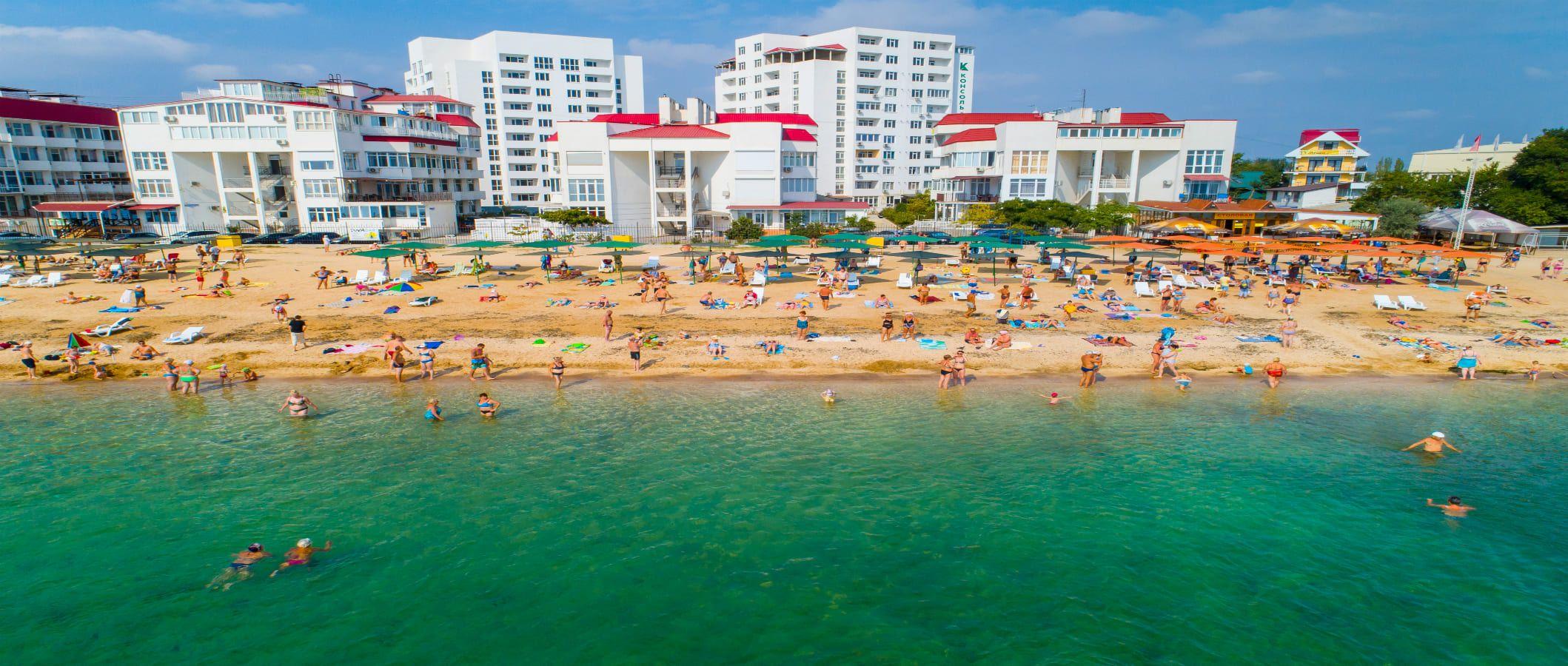 Двухкомнатные апартаменты (Феодосия|Крым)
